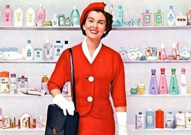 The Avon Lady, cosmetic heroine of 70s suburbia