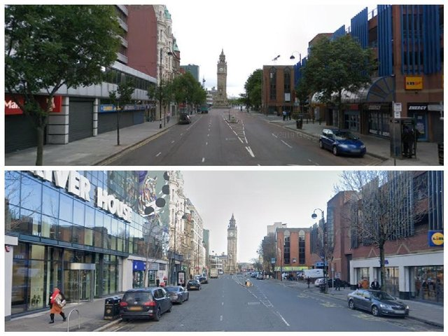 The Google maps images which show just how much Northern Ireland has changed in 12 years, including Belfast, Londonderry, Portadown, Larne and more
