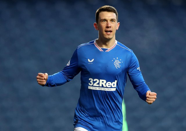 Rangers' Ryan Jack.