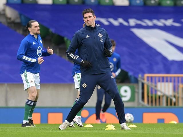 Kilmarnock and Northern Ireland striker Kyle Lafferty