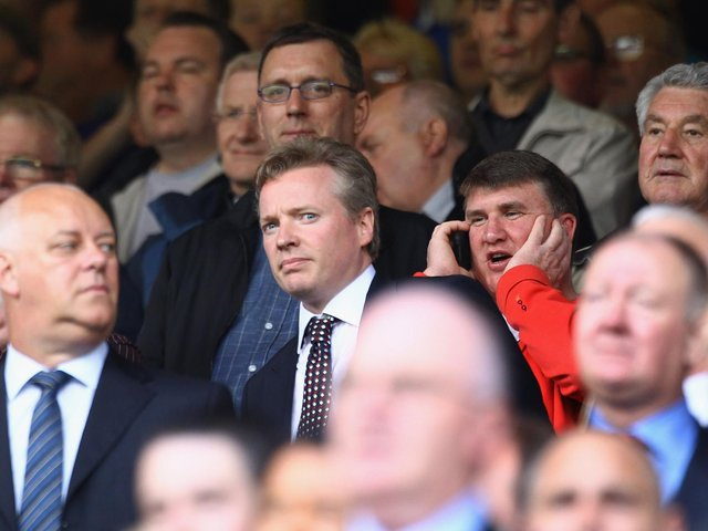 Former Rangers chairman Craig Whyte at Ibrox