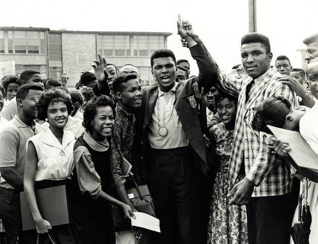 Muhammed Ali in Louisville, Kentucky