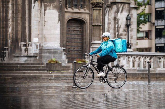 Deliveroo's search for riders and drivers