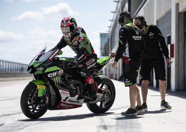 Jonathan Rea was in blistering form as he completed his final pre-season test at Motorland Aragon in Spain.