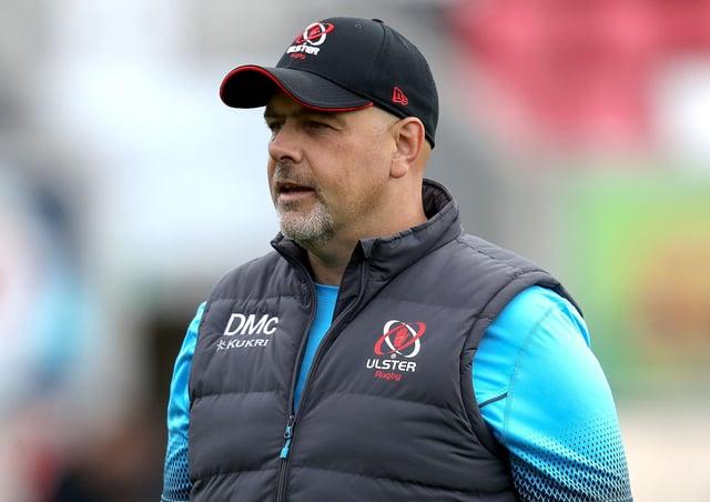 Ulster head coach Dan McFarland. Pic by PressEye Ltd.