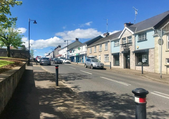 The village of Castledawson, Co Londonderry