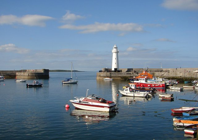 Donaghadee harbour, Co Down