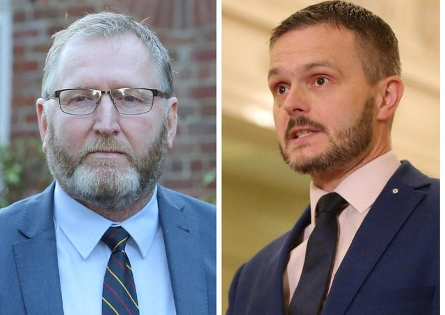 UUP MLAs Douge Beattie and Robbie Butler joked on social media about wrestling for the leadership of their party.
