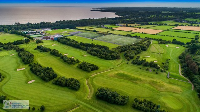 Golfers can get into the swing this spring with golf courses and driving ranges at Allen Park (pictured) and Ballyearl