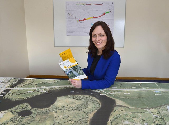 Infrastructure Minister Nichola Mallon has announced the route for the new southern bypass around Enniskillen.