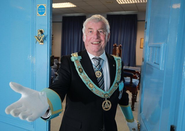 John McLernon, Provincial Grand Master of the Provincial Grand Lodge of Antrim