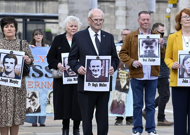 The inquests into the deaths of 11 people in Ballymurphy in August 1971.  10 people died after being shot by the Parachute Regiment in the area with one more person dying after complications following a confrontation with soldiers.