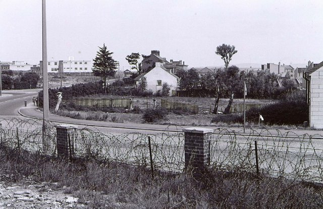 One of the locations where some of the Ballymurphy victims were killed in August 1971