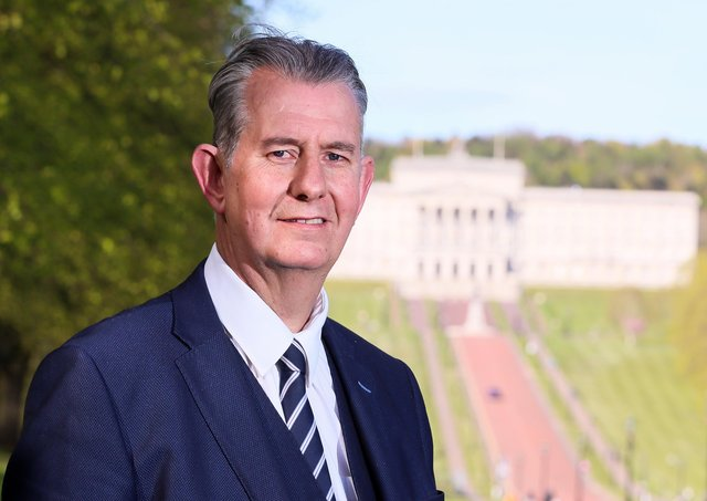 DUP MLA Edwin Poots pictured at Stormont in east Belfast. Picture by Jonathan Porter/PressEye