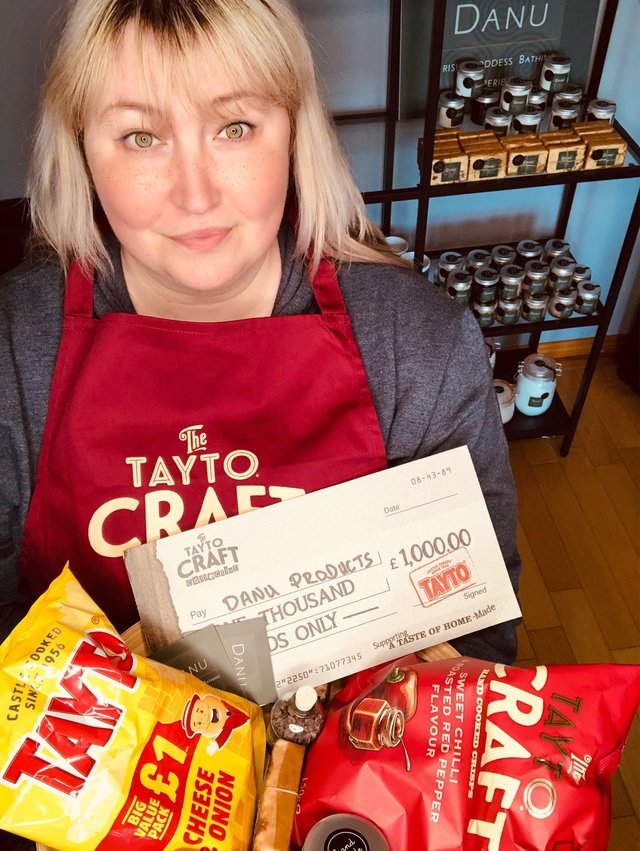 Oonagh McAlinden from Danu Products