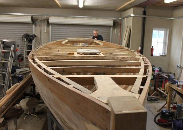 Fermanagh man Paul Louden-Brown has meticulously restored Fairy class yacht 'Petrel'