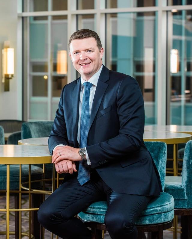 Roger McMillan, Managing Partner at Carson McDowell