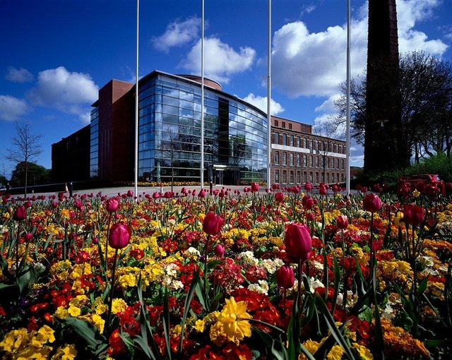 Council offices at Mossley Mill