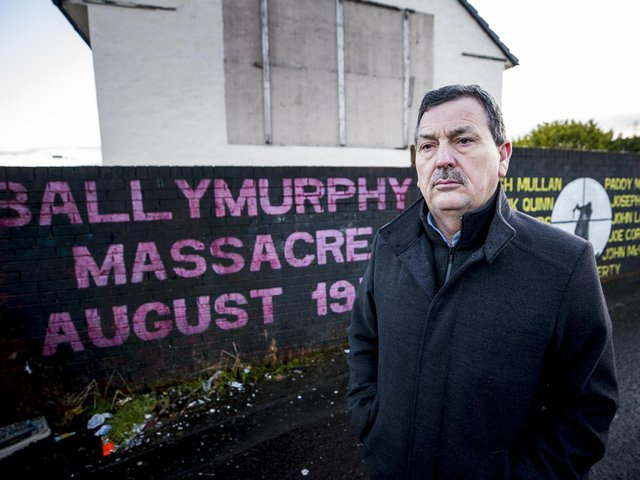 John Teggart, whose father Daniel was one of 10 innocent people shot dead by British paratroopers in west Belfast in August 1971.
