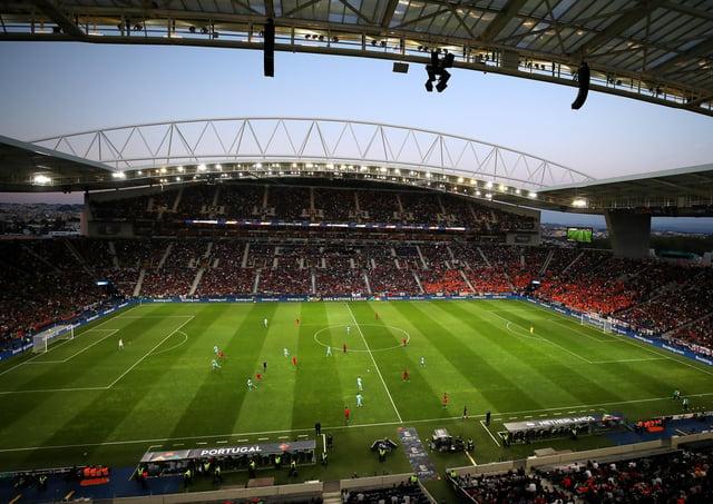 General view of the Estadio do Dragao, Porto.