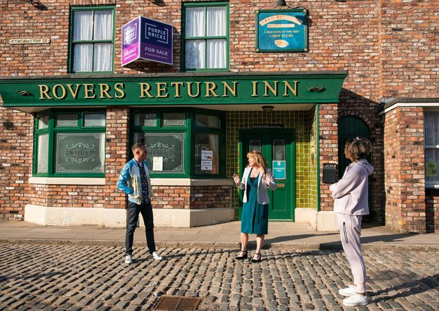 The tech-led estate agent's signage will appear on The Rovers Return this summer as Johnny puts the pub up for sale after realising his marriage to Jenny is over
