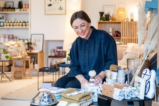 Coleraine business owner Tracy McAllister, founder of BTS CONCEPT STORE