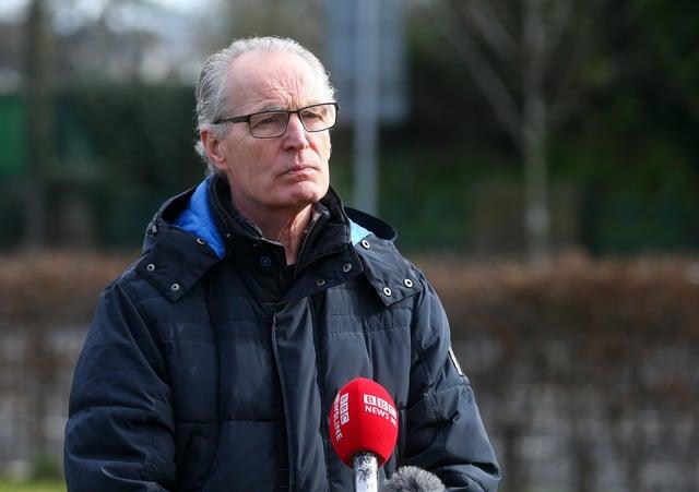 Sinn Fein's Gerry Kelly
