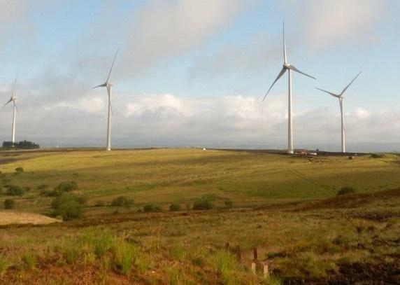 Wind turbines (stock image)