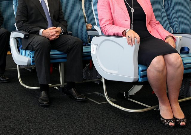 Arlene Foster promoted aircraft seats made in Northern Ireland when she was Stormont Enterprise Minister.