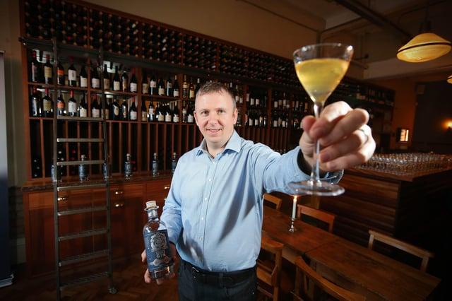 Joe McGirr, founder of Boatyard Distillery in Fermanagh