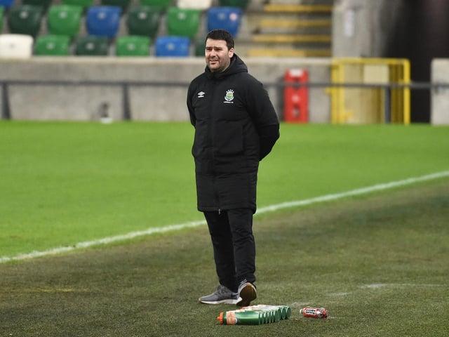 Linfield boss David Healy