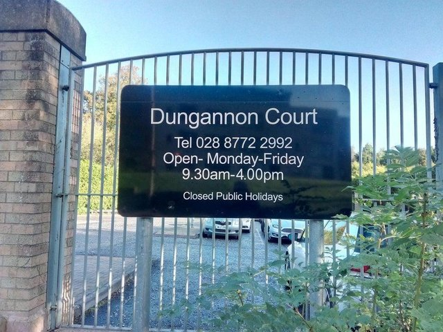 Man appeared by video link at Dungannon Court this morning.