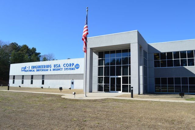 E+I Engineering's existing factory in Anderson, South Carolina