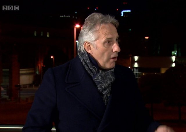 """Ian Paisley, DUP MP for North Antrim, on BBC Newsnight, on Friday May 14 2021 after the election of Edwin Poots as DUP leader. Mr Paisley said the BBC """"want to take the mickey out of his religion, you wouldn't do that if he was a Muslim"""""""
