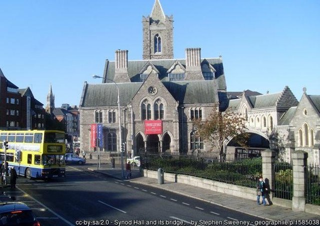 Synod Hall and its bridge, Christ Church Cathedral, Dublin. Picture: Stephen Sweeney