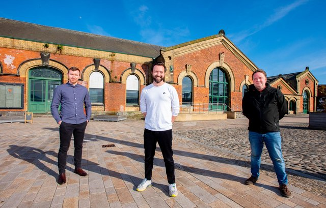 Oisin Lappin, Corporate Finance Manager at QUBIS with Ruairí Gallagher, CEO and Ecological Consultant and Jonathan Houghton,  Marine policy and ecology advisor both from FjordStrong