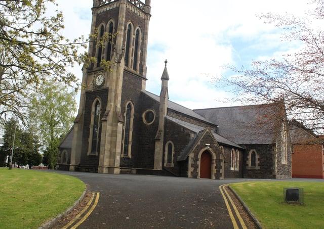 Christ Church, Lisburn. Photo by Billy Maxwell