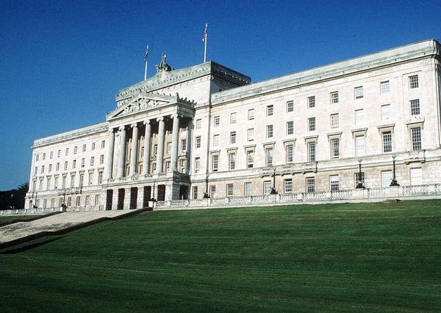 Stormont Parliament Buildings. Picture: Pacemaker