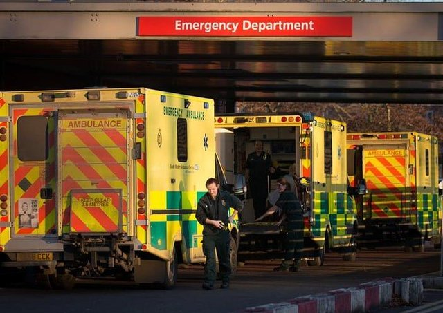 Emergency Department at Craigavon Hospital.