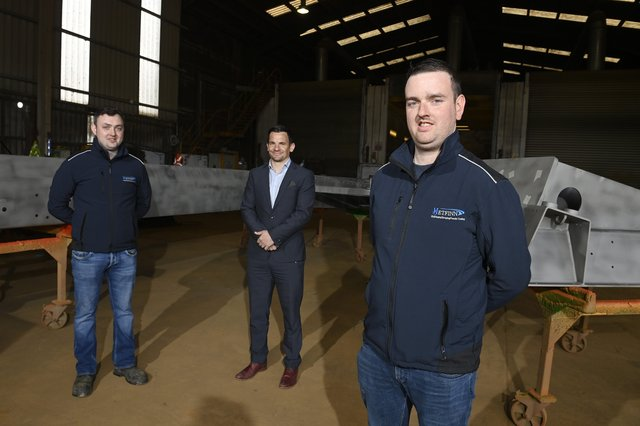 Metfinn's Shane and Jerone Kelly are joined by Danny Hughes from Danske Bank