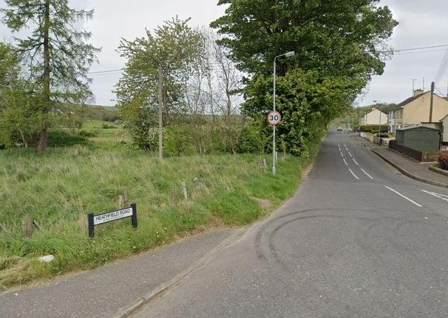 The Heathfield Road area, Claudy. Pic: Google