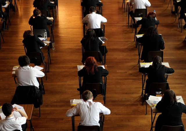 Teachers across Northern Ireland are engaged in a process of moderation, designed to generate GCSE and A-Level grades