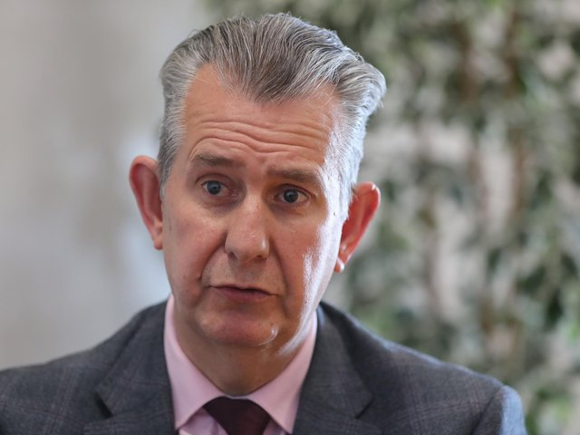 The new designate leader of the DUP, Edwin Poots.