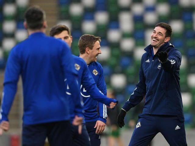 Kilmarnock striker Kyle Lafferty