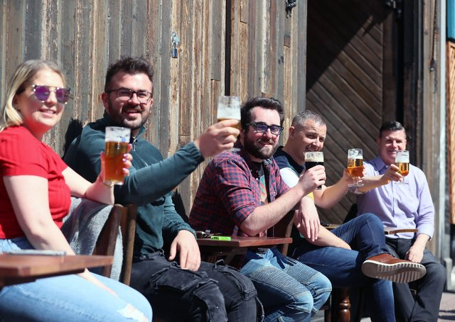 Outdoor hospitality businesses reopened in Northern Ireland on April 30