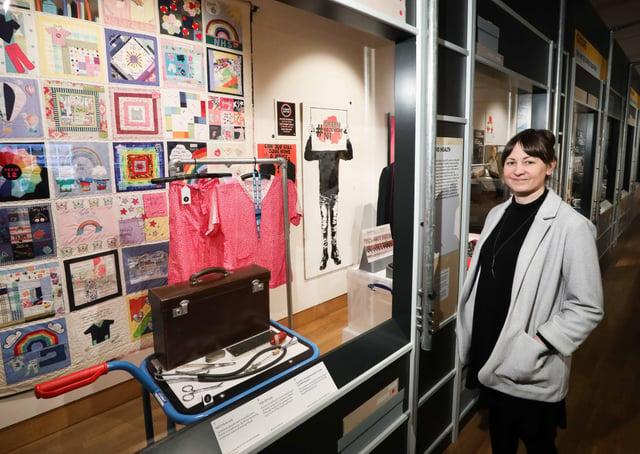 Exhibition Curator Niamh Baker