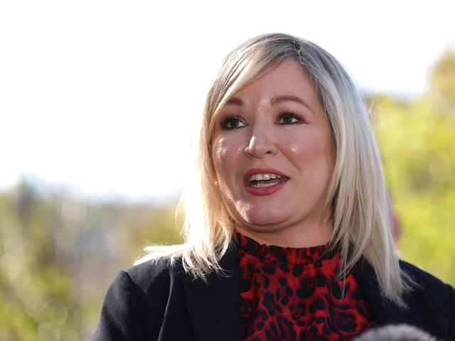 Deputy First Minister, Michelle O'Neill.