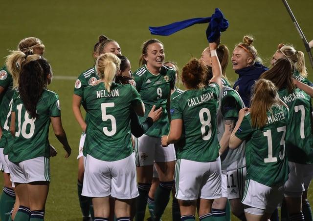 Northern Ireland defeated Ukraine to qualify for Euro 2022.