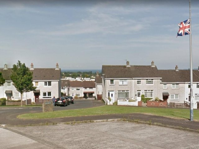 The Tulleevin Drive area of Newtownabbey.