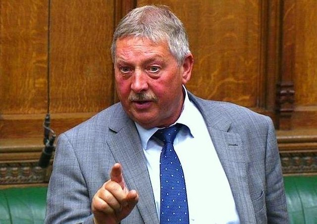 DUP MP for East Antrim Sammy Wilson